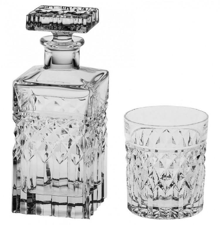 <b>Набор для виски 7</b> предметов (графин 700 мл + 6 стаканов по ...